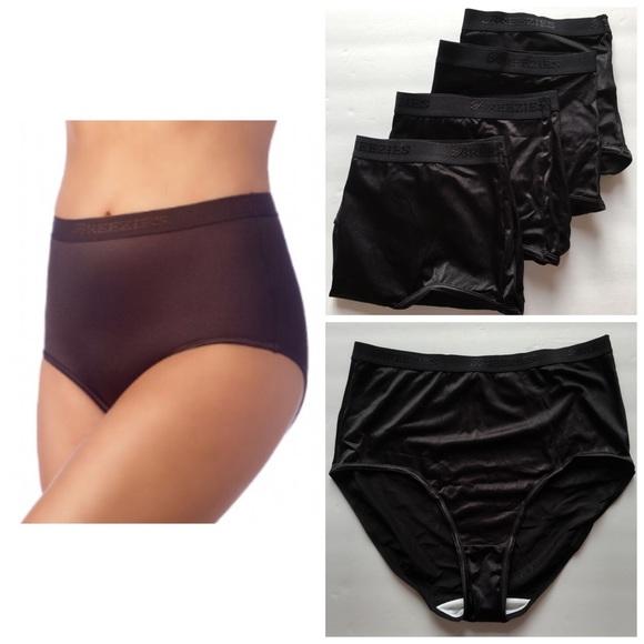 b57d6c358f6f Breezies Intimates & Sleepwear | 4 Nylon Lycra Brief Panties ...